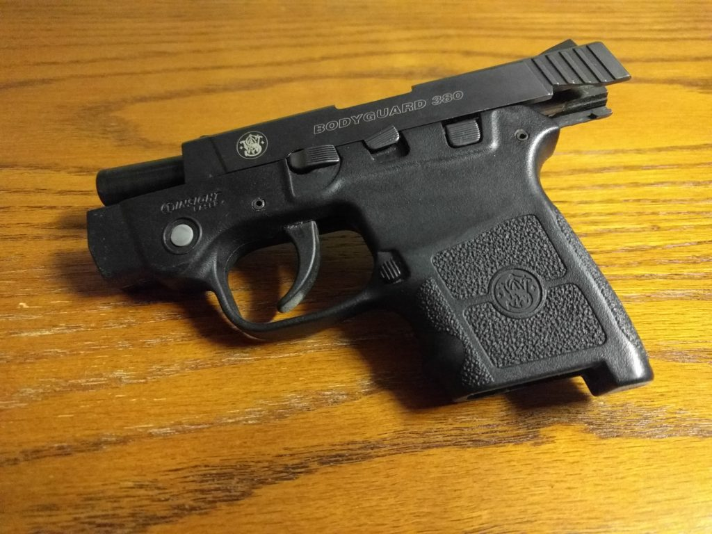 Smith and Wesson Bodyguard carry gun