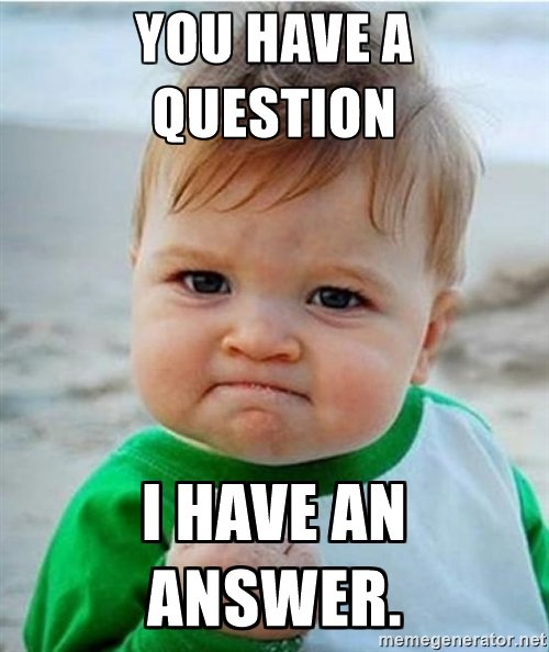 success kid question meme