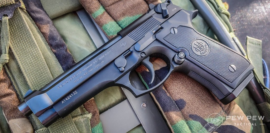 Beretta 92FS and USMC Kit