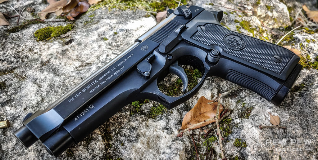 Beretta 92FS in the wild