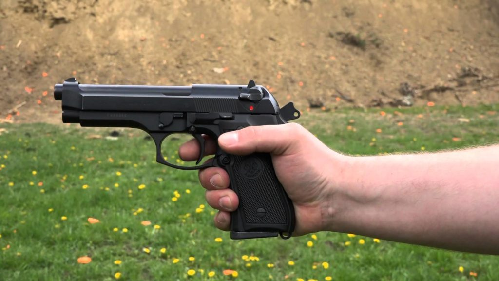 Beretta 92FS single action