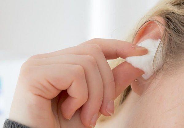 Cotton Balls as Ear Plugs