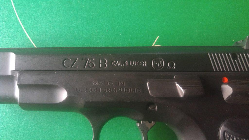 CZ 75B Designation