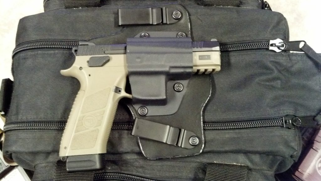 Holstered CZ P09