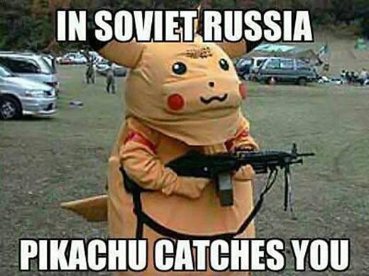 Soviet Russia Pikachu