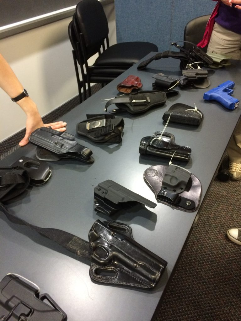 kydex holster choices