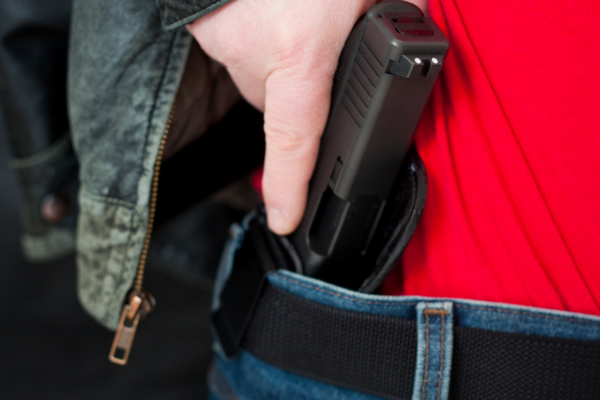 Concealed carry with waist holster