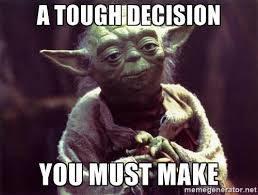 decision yoda meme