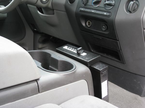 Car handgun safe