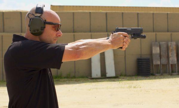 pistol shooting drills