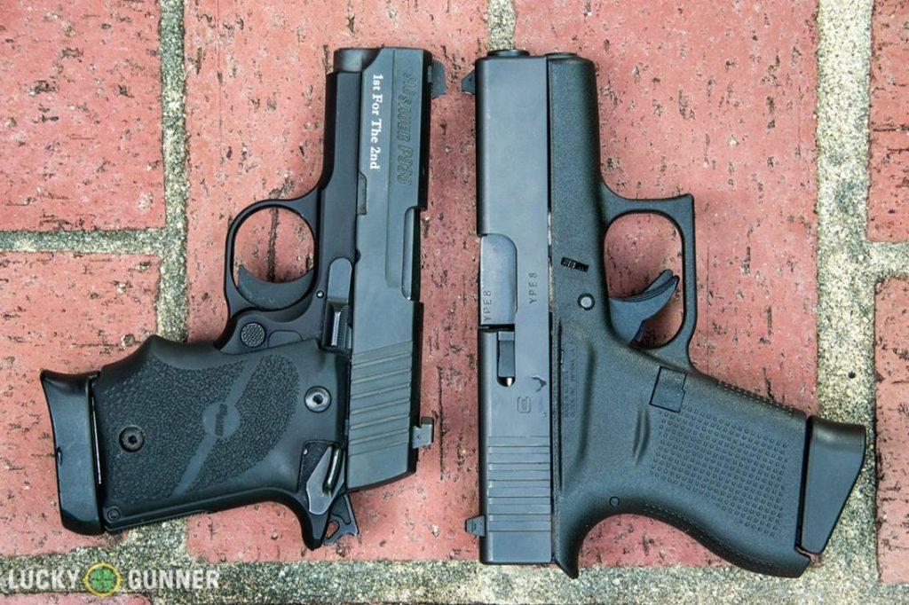 sig p938 vs glock 43