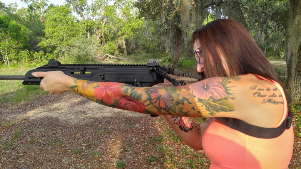singlepoint sling shooting