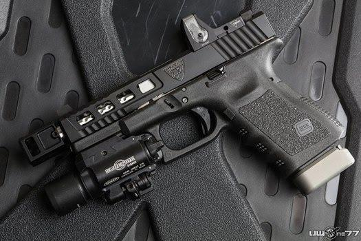 trijicon rmr on modded glock