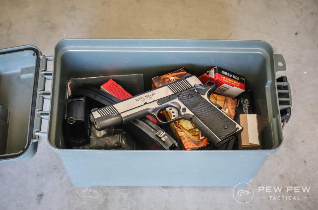 .50 Cal Ammo Box