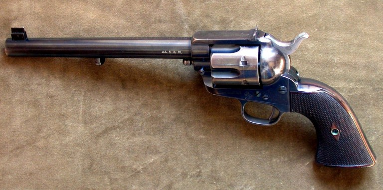 Colt SAA with Hammer on Empty Chambe