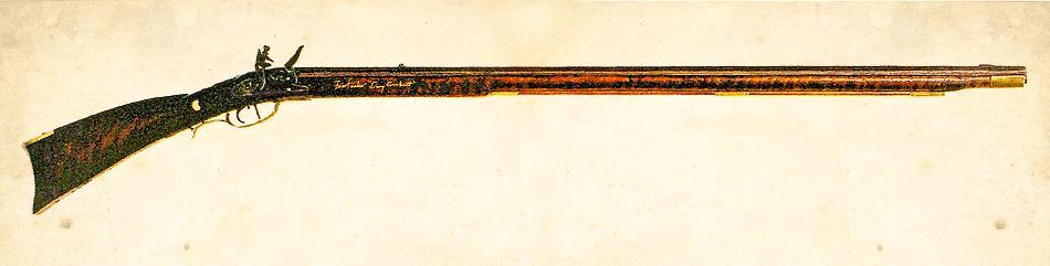 Davy Crockett's Ol' Betsy Rifle