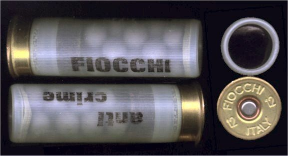 fiocchi rubber buckshot