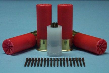 Flechette exotic shotgun ammo