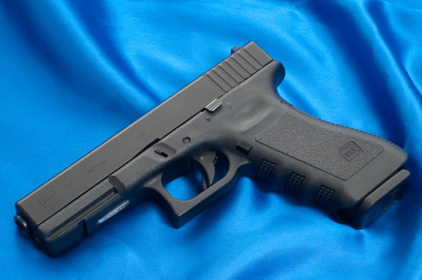 Glock 17 factory slide