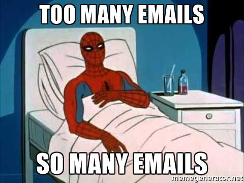 So Many Emails