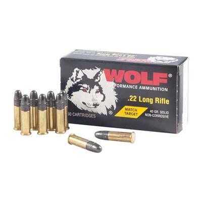 Wolf Match .22 LR
