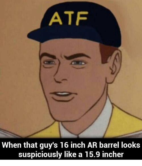 atf 16inch meme