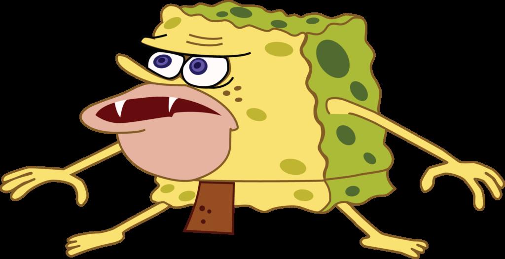 spongebob primitive meme
