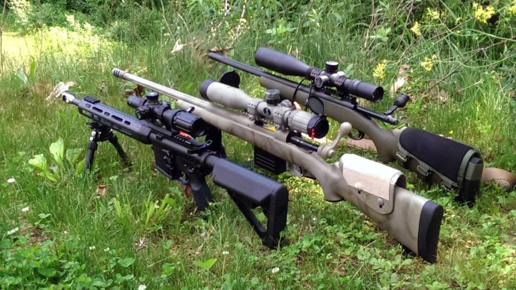AR15 with bolt guns