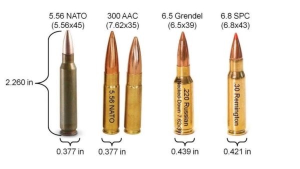 Alternative AR-15 cartridges