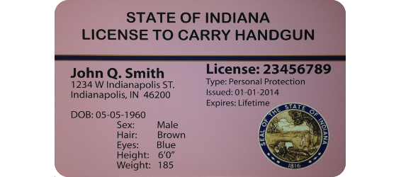 Indiana carry license