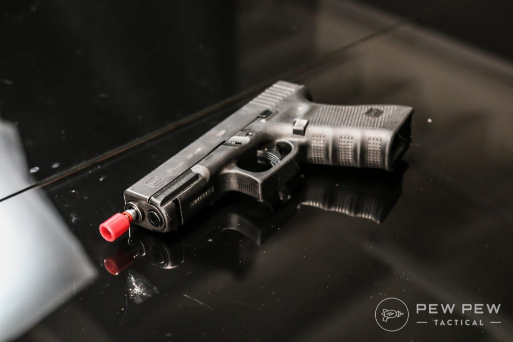 Laser Ammo Cartridge with Red Tip