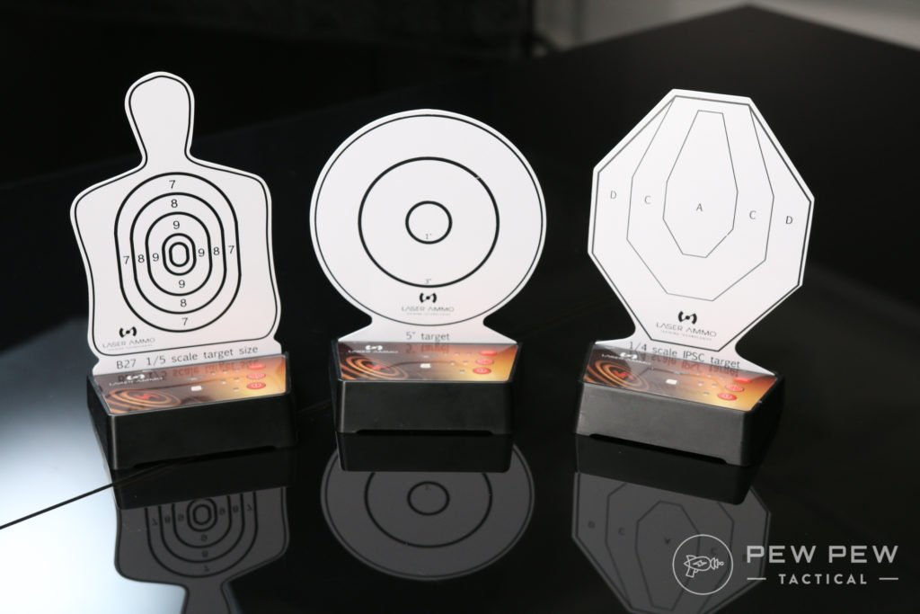 Laser Ammo IMMTS, Interactive Multi Target Training System