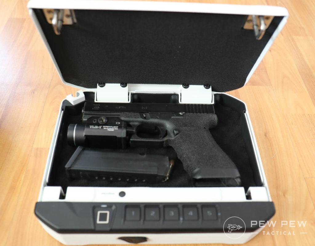 VT10i with Glock 17
