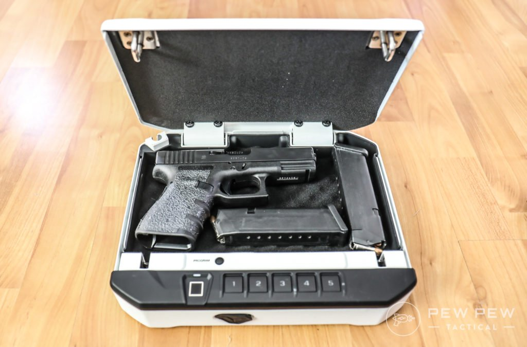 Best Bedside Gun Safe for Quick Access [2018] - Pew Pew Tactical