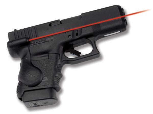 crimson trace laser sight on glock 26
