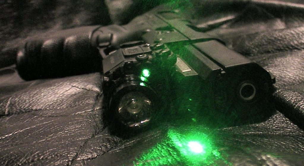 fn 57 with green laser