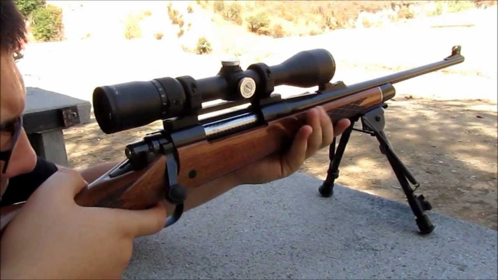 remington 700 bdl with scope