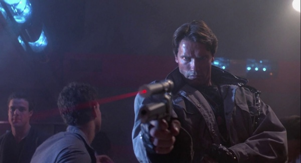 terminator with laser sight