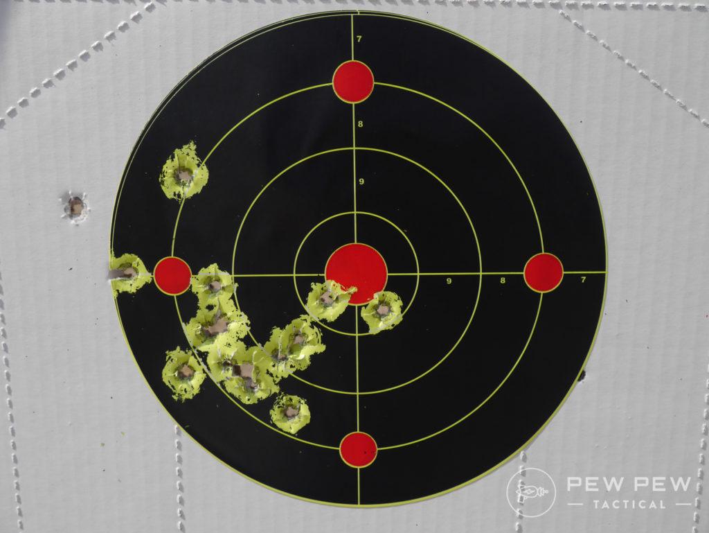 Armscore .45 Ammo Groups