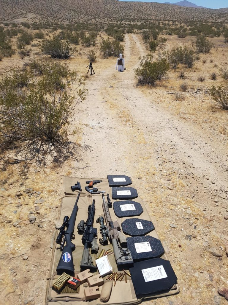 AR500 Desert Testing
