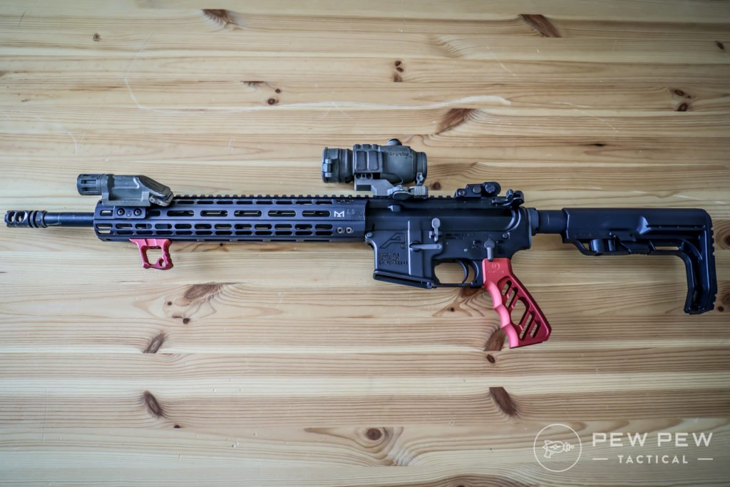 Aero AR-15 with Tyrant CNC