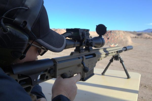 Barrett MRAD .308 with suppressor