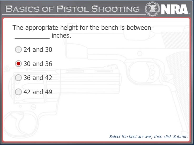 Basic Pistol Testing