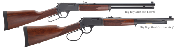 Big Boy Steel Rifle and Carbine