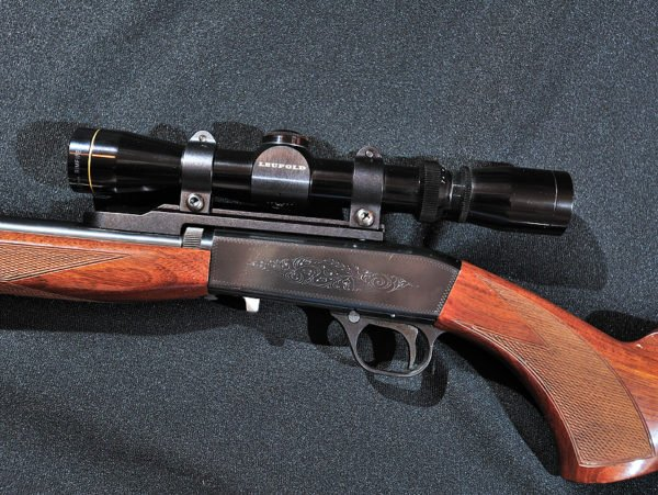 Browning SA-22 With Leupold Scope