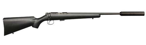 CZ-455 American with Suppressor Ready Barrel
