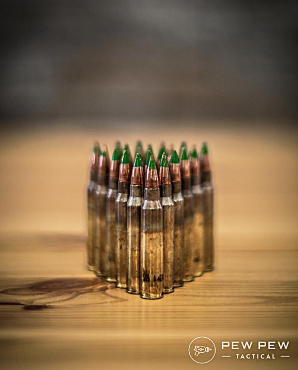 Green Tip M855