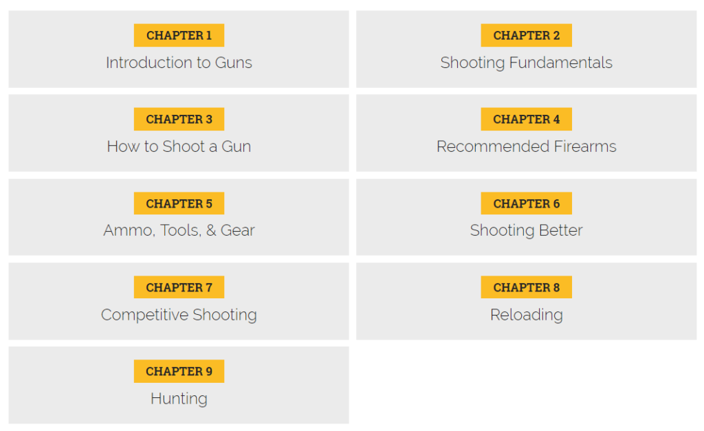 Guide to Guns Syllabus
