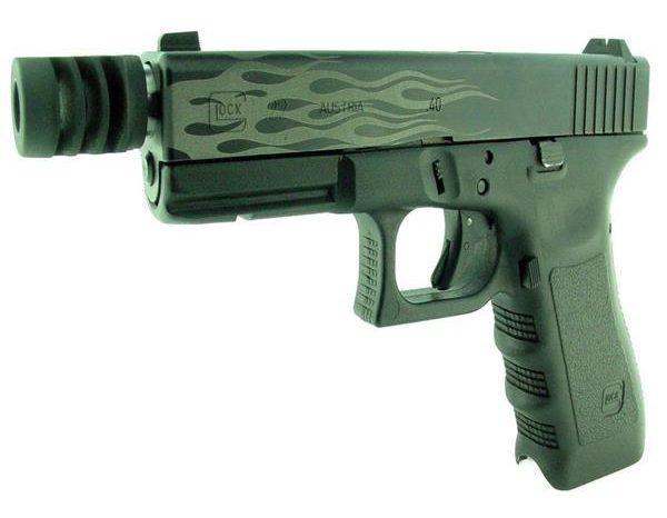 Modded Glock 40