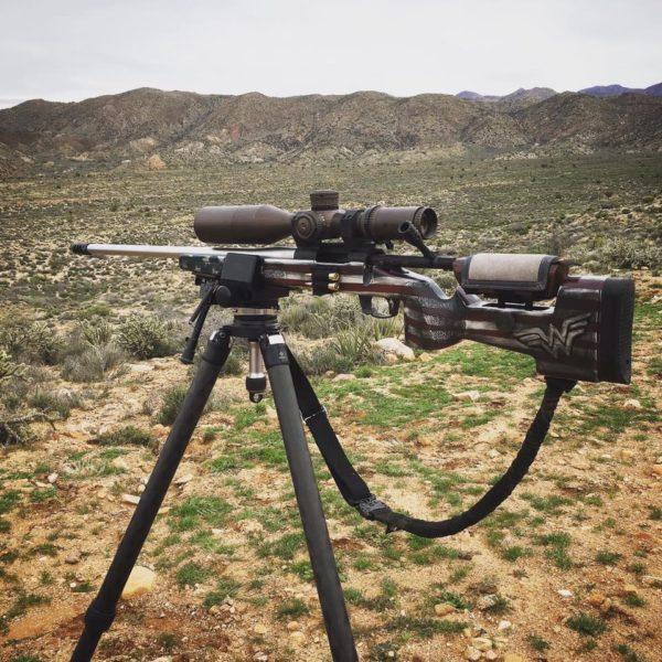 Regina Milkovich Wonder Woman precision rifle